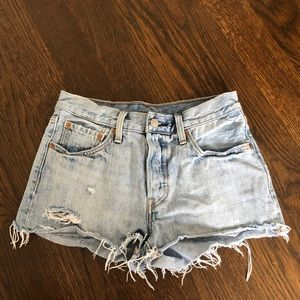 Levi's denim shorts! Size 25/26